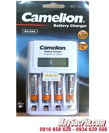 Camelion BC-1012 _Bộ sạc pin BC-1012 kèm 4 pin sạc Camelion NH-AAA1100BP2 (AAA1100mAh 1.2v)