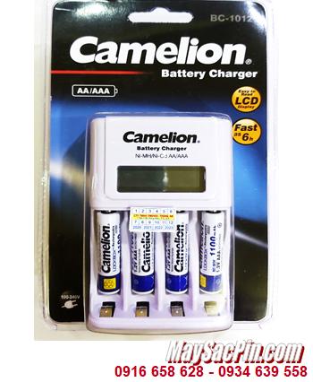 Camelion BC-1012 _Bộ sạc pin BC-1012 kèm 4 pin sạc Camelion NH-AAA1100LBP2 (AAA1100mAh 1.2v)