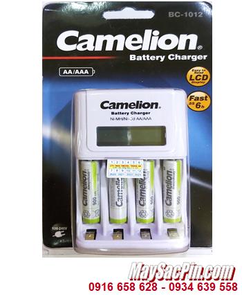 Camelion BC-1012 _Bộ sạc pin BC-1012 kèm 4 pin sạc Camelion NH-AAA900ARBP2 (AAA900mAh 1.2v)