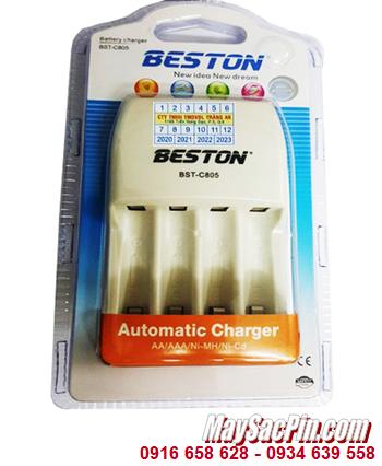 Beston BST-C805; Máy sạc pin AA-AAA Beston BST-C805 _Sạc được 1,2,3,4 pin AA-AAA _Made in Hongkong